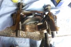 gebrochener Kurbelwellen-Lagerdeckel